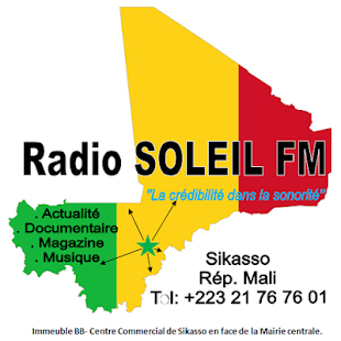 Radio Soleil fm- Sikasso for PC-Windows 7,8,10 and Mac apk screenshot 1