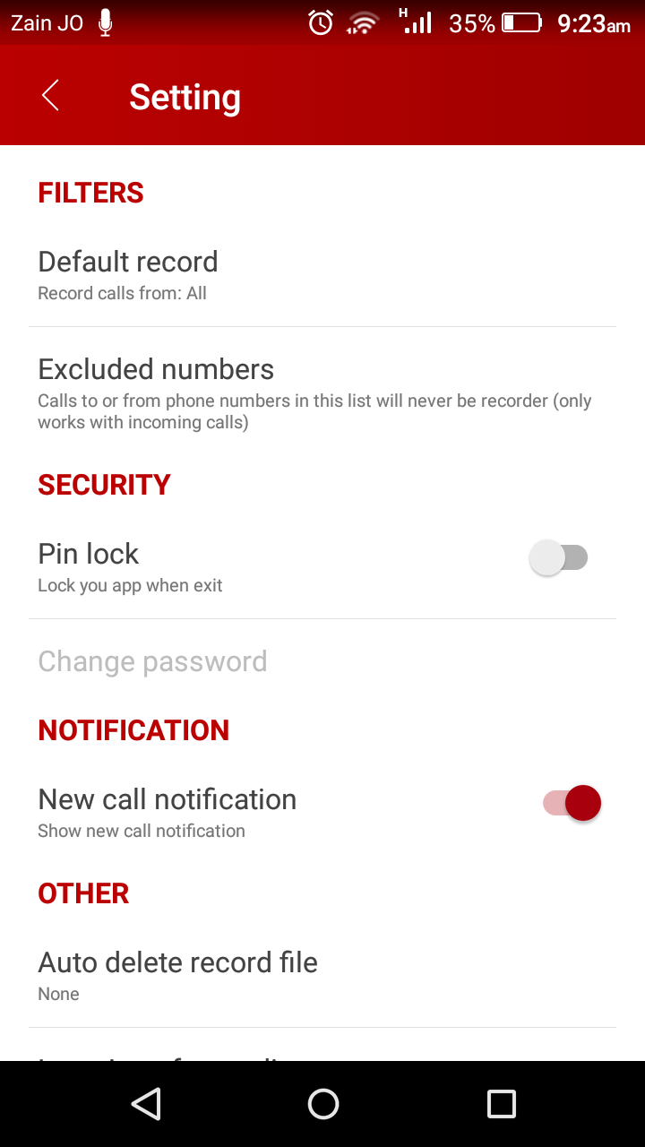 Automatic Call Recorder Pro 2019 - ACR Tool.(GOLD) Screenshot 6