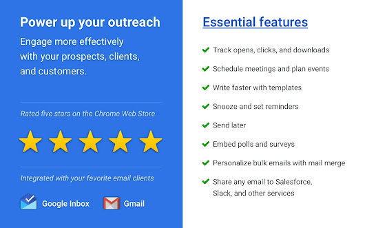 Mixmax: Email Tracking, Templates, Mail Merge