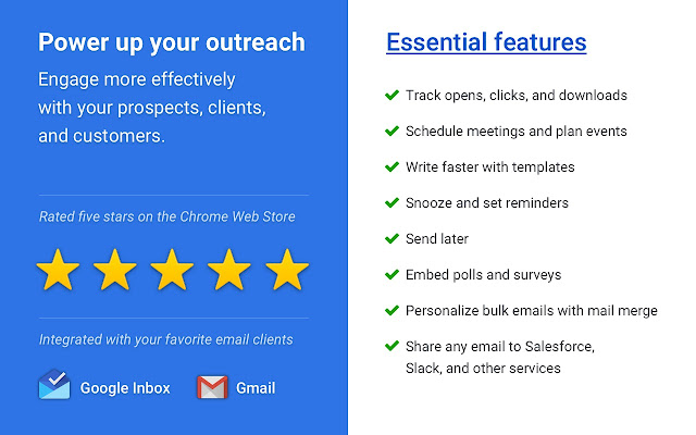Mixmax: Email Tracking, Templates, Mail Merge Screenshot