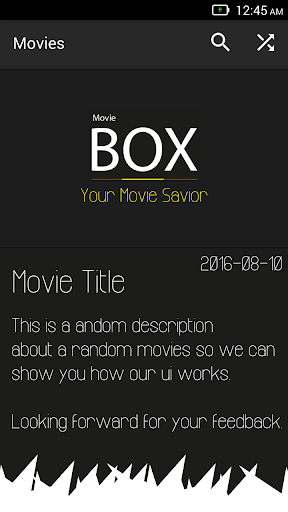 Show Movie Box - Movies News screenshot 3