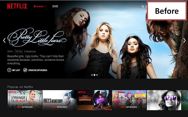 Netflix™ Billboard Banner Hider
