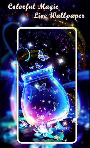Download Colorful Magic Live Wallpaper Free For Android Download