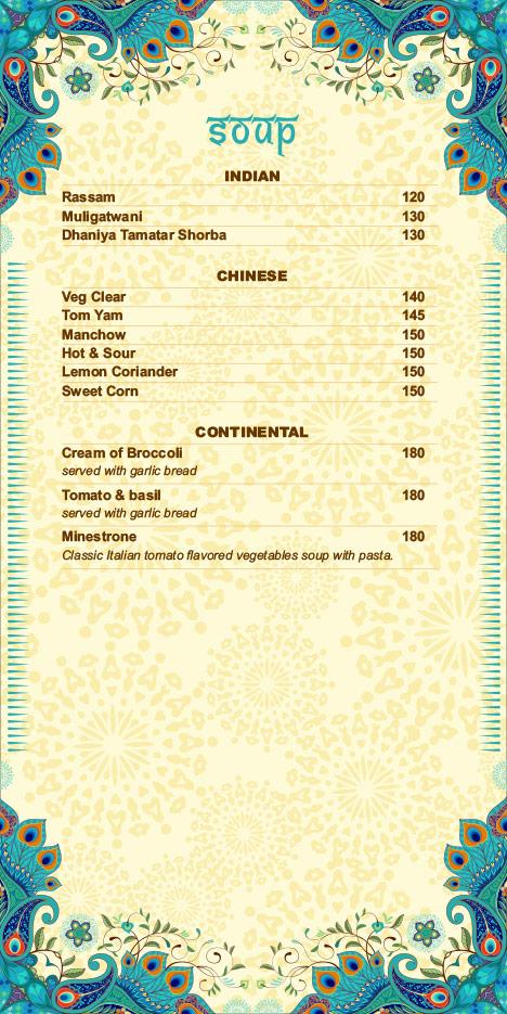 Hare Krishna menu 7