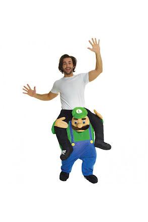 Dräkt, green plumber piggyback