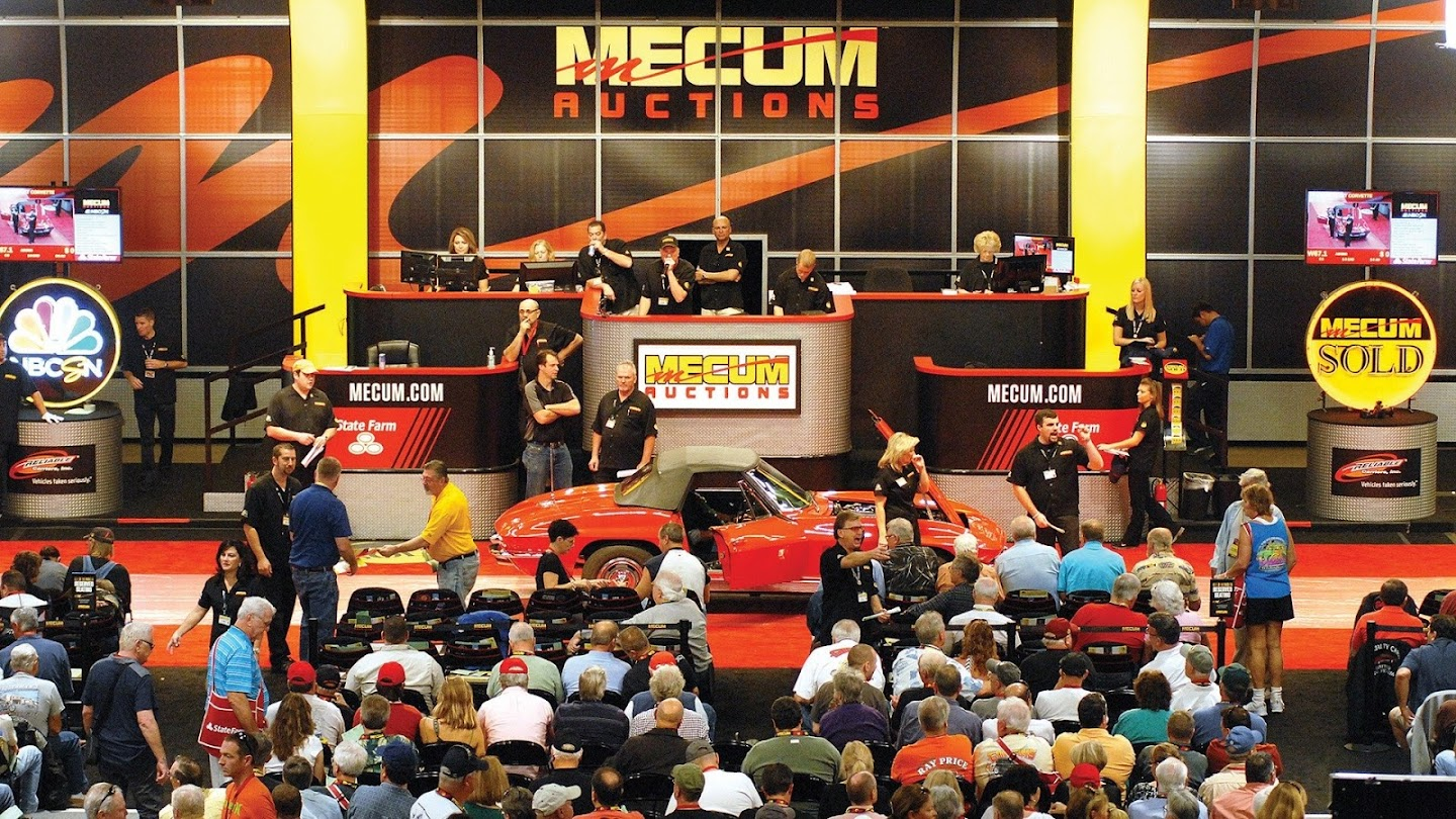 Watch Mecum Auto Auctions live