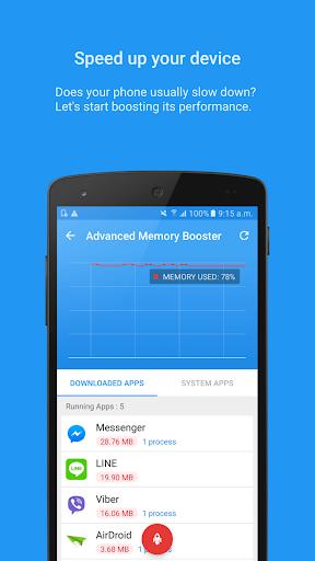 task manager – system booster screenshot 1