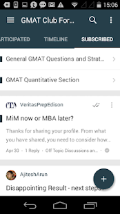 GMAT Club Forum- screenshot thumbnail