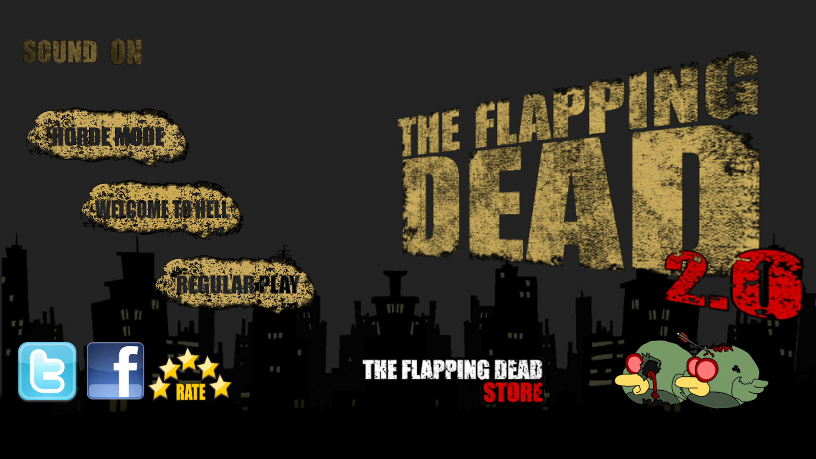 The Flapping Dead 2.0 - screenshot