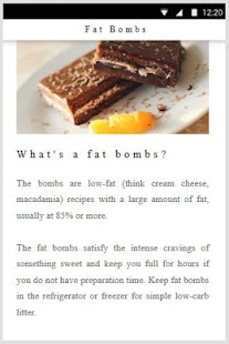 Fat Bombs Recipes for Ketogenic Diet Food - náhled