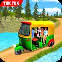 Off Road Tuk Tuk Auto Rickshaw - Hill Drive Game icon