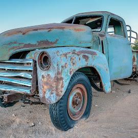 pick up by Peter Schoeman - Transportation Automobiles ( van, car, sosousvlei, truck, desert )