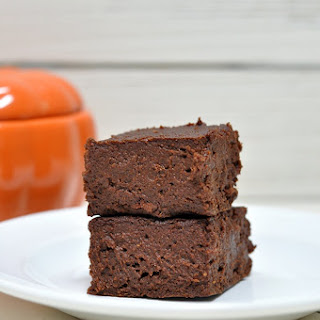 Flourless Pumpkin Brownies (Vegan, Gluten Free).