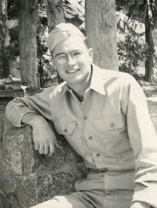 Don in Japan during Korean War