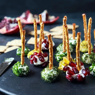 Assorted Holiday Goat Cheese Balls Recipe