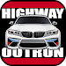 Highway Outrun Racing Game Icon