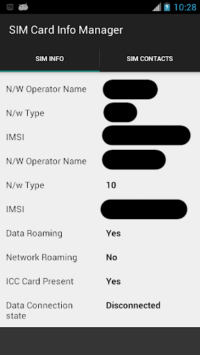 SIM Card Info Manager