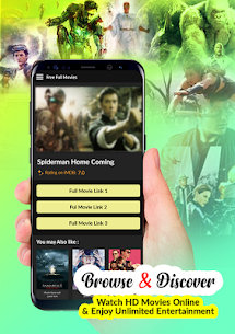 Free Full HD Movies 2019  App Download For Android 8