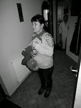Photo: ...właścicielka domostwa...spoziera...