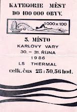 Photo: Karlovy Vary na 3. místě v kategorii měst do 100 000 obyvatel