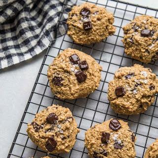 Quinoa Breakfast Cookies with Dark Chocolate & Sea Salt.