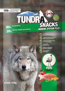Tundra snacks Kalkon100 gr 9 st/display