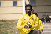 New Kaizer Chiefs defensive midfielder James Agyekum Kotei.