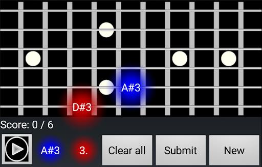 Guitar Ear Trainer  screenshots 2