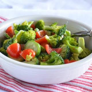 Tomato Broccoli Salad.