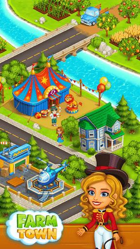 Ferme Farm: Bonne Jour et jeu de la ferme Ville  captures d'écran 4