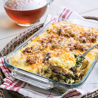 Smoked Pork, Greens, and Grits Casserole Recipe