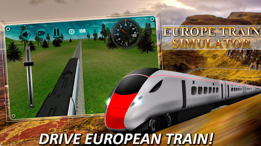 Europe Train Simulator 3D