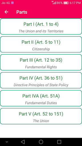 Constitution of India for UPSC 9.0 screenshots 3
