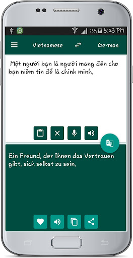 Vietnamese German Translate 1.2 screenshots 2