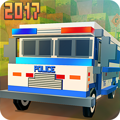 Blocky San Andreas Police 2017 模擬 App LOGO-APP開箱王