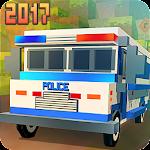 Blocky San Andreas Police 2017 icon