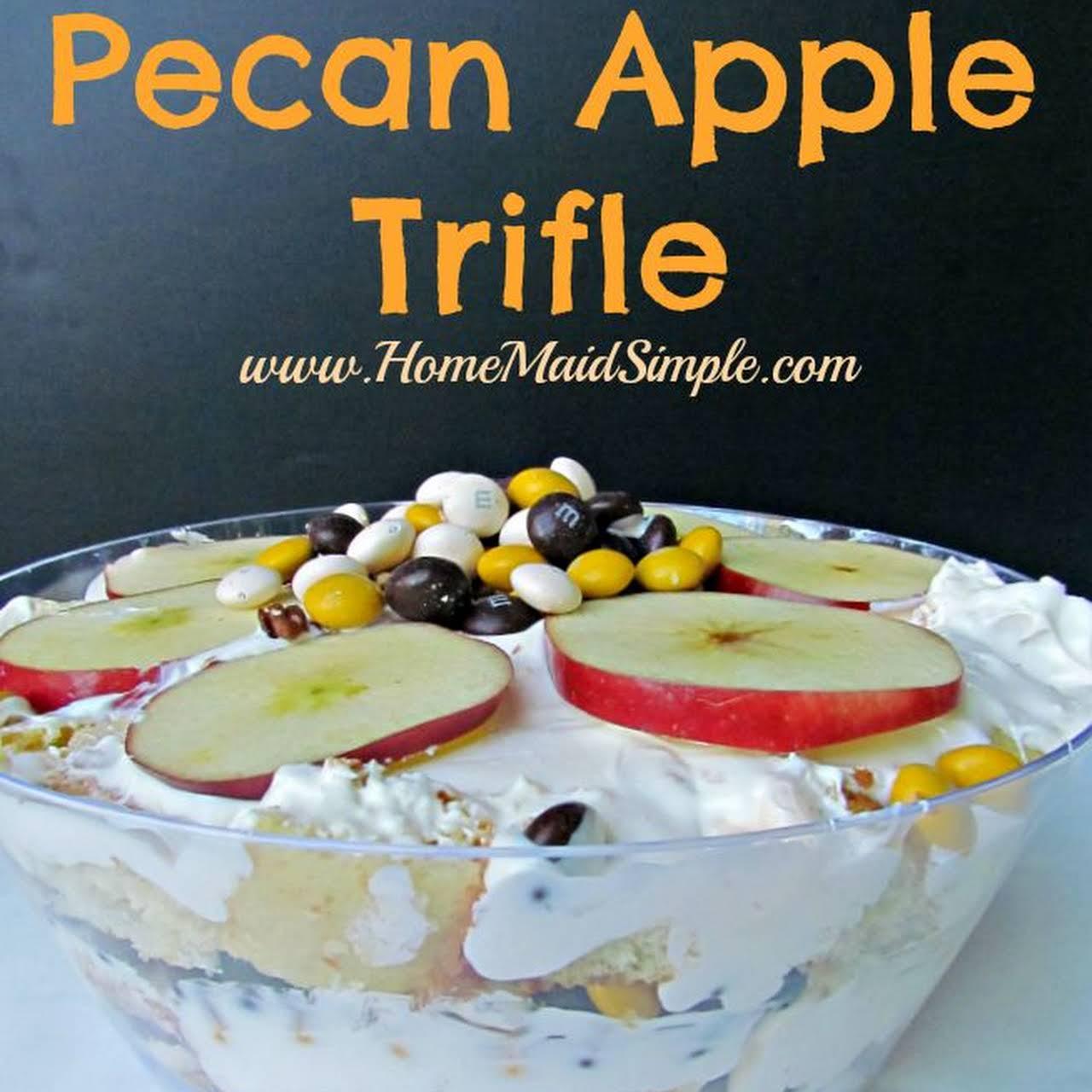 Pecan Apple Trifle