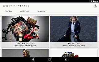 Screenshot of NET-A-PORTER
