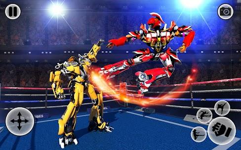 Futuristic Robot Ring Fighting 2020 3