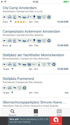 Camping App Eu Free 4.3.4 screenshots 2