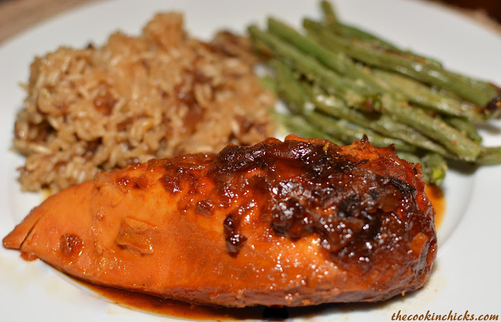 Slow Cooker Tangy Chicken