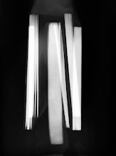 Photo: © Olivier Perrot Photogram Photogramme nb lecture 2000 40x54cm Ref : livre0104A