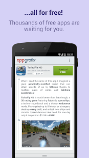 AppGratis - Cool apps for free- screenshot thumbnail