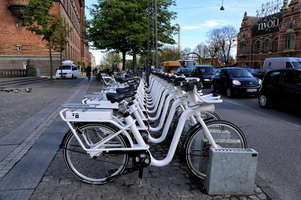 Rowery miejskie w Kopenhadze