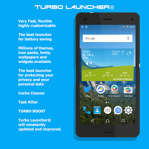 Turbo Launcher® 2017 Premium v0.0.55