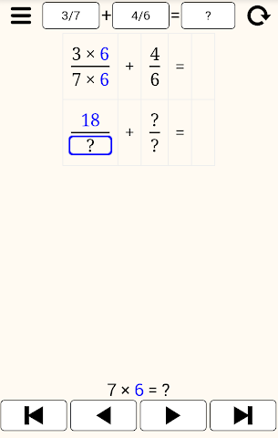 how to add unlike fractions step by step