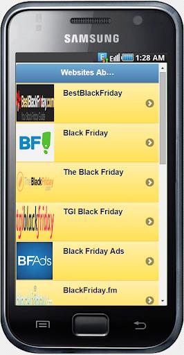 Black Friday Websites
