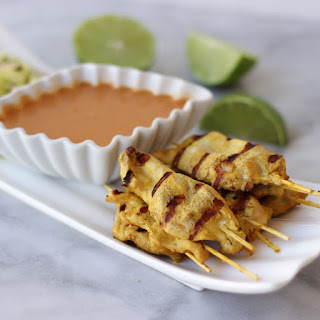 Chicken Satay Cucumber Sauce Recipes