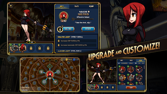 Skullgirls MOD APK (Unlimited Skills) 4