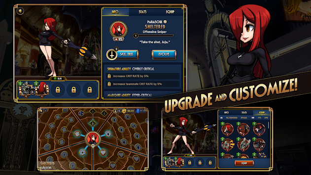 Skullgirls APK screenshot thumbnail 4